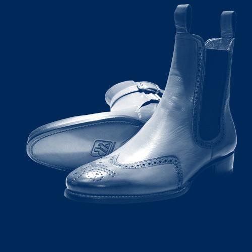 Rahmengenähte Schuhe